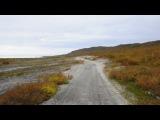 Рыбачий п-остров, на шишиге, путь к берегу Северного Ледовитого.
